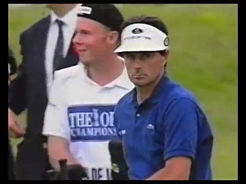 """This is really, this is uh, this is so, so, so, so, so sad"": Jean van de Velde's 18th hole at the 1999 Open Championship"