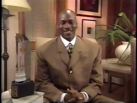 """Don't ask me for no more tickets"": Michael Jordan's acceptance speech for Comeback Player of the Year at the 1996 ESPY Awards"