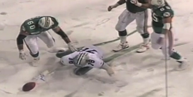 """The field goal was touched beyond the line by the receiving team"": Leon Lett's 1993 Thanksgiving Game Blunder"